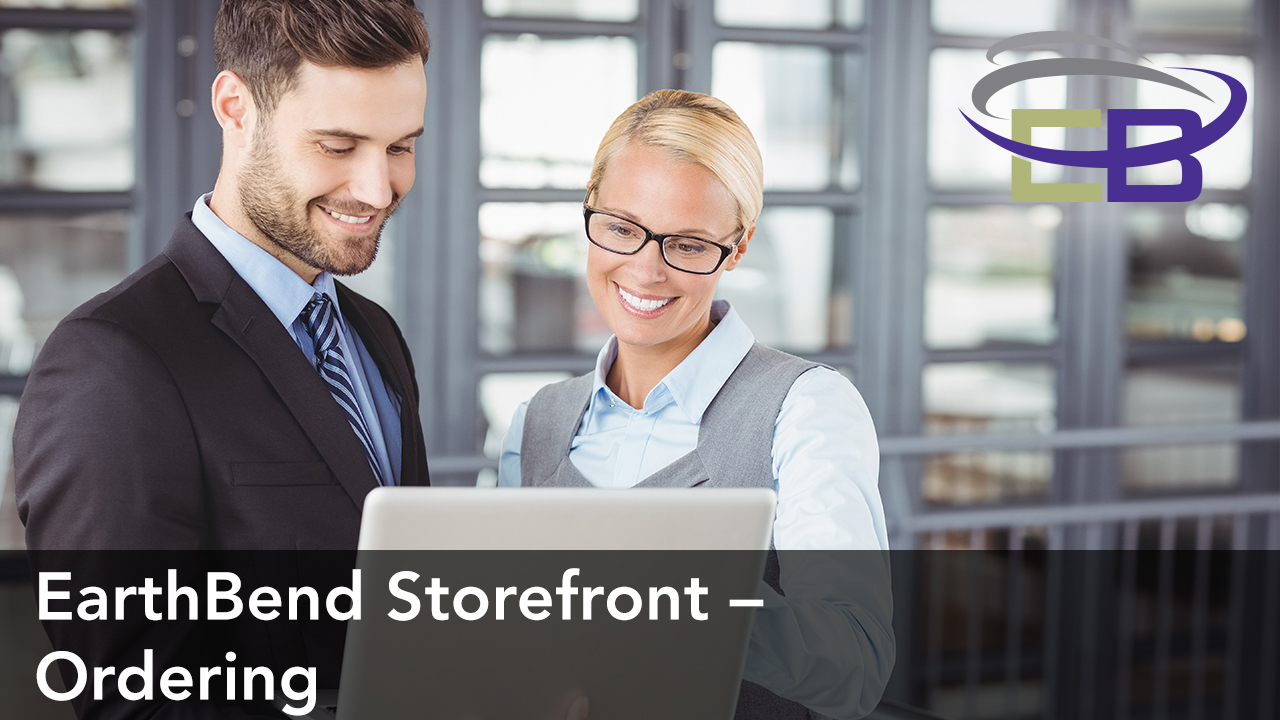 EarthBend Storefront – Ordering